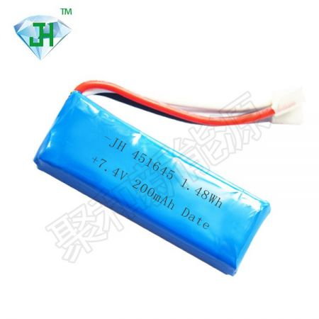 451645-200mah-10C-7.4VHigh power battery combination