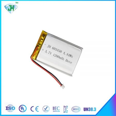 Hot 603450 1200mah electronic battery factory direct sales 3.7V