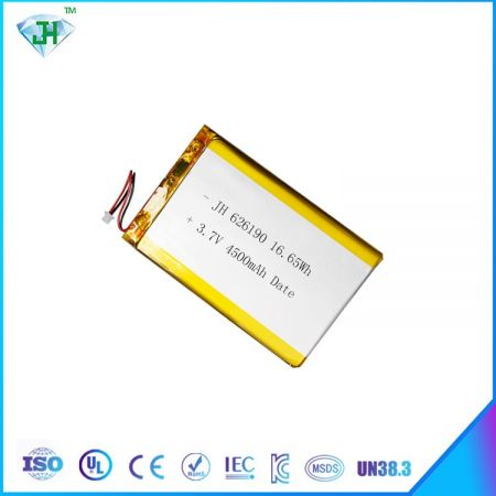 Hot 626190 4500mah lithium polymer battery factory direct sales 3.7V